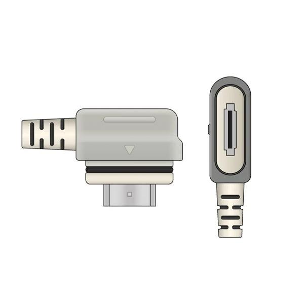 GE Healthcare Compatible ECG Telemetry Leadwire