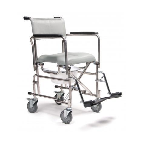 Everest & Jennings Self-propelled rehab shower commode chair