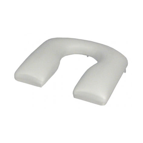 E & J Rehab Shower Commode Open Front C-Shape Padded Seat