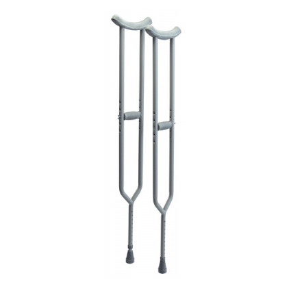 Lumex Imperial Bariatric Steel Crutches (Pair)