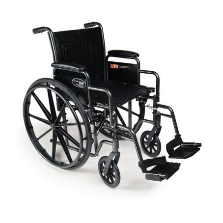 """Everest & Jennings Traveler SE wheelchair - 18"""" depth"""