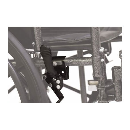 """Everest & Jennings Traveler SE wheelchair, 18"""" Depth - Wheel Lock"""