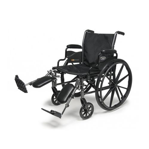 E & J Traveler L3 plus wheelchair with elevating legrests