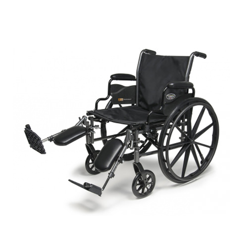 E & J Traveler L3 plus wheelchair with elevating legrests