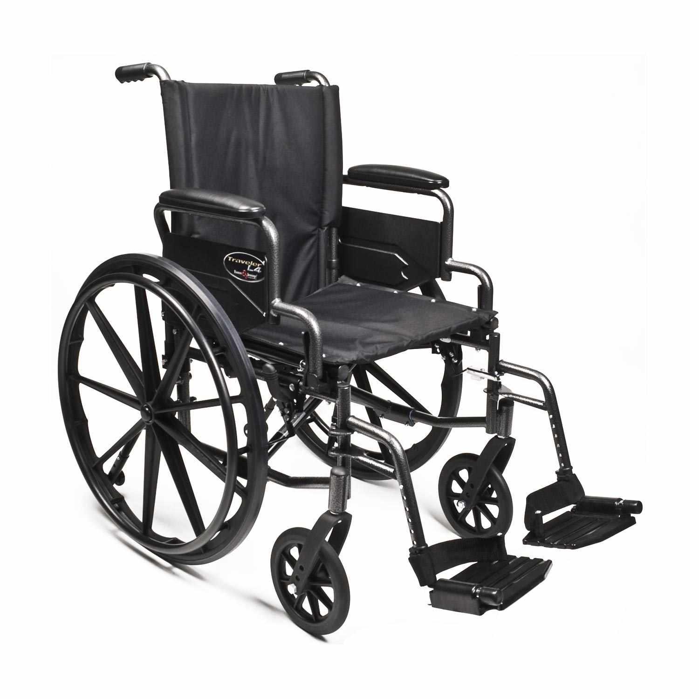 Everest & Jennings Traveler L4 lightweight wheelchair