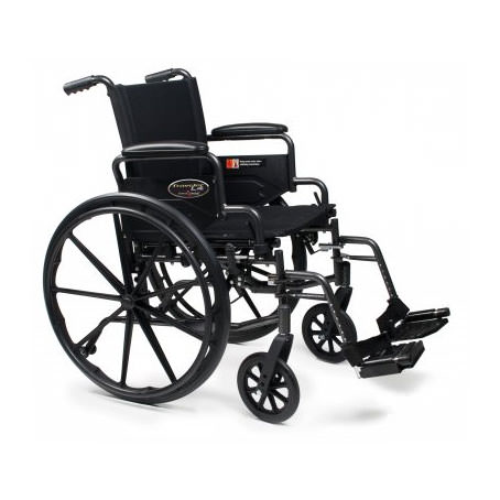 Traveler L4 wheelchair with height adjustable arms