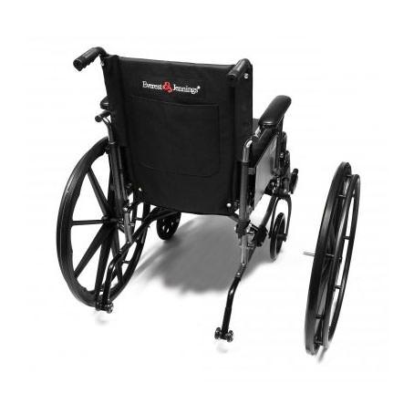 Everest & Jennings Traveler L4 wheelchair - Quick Release Wheels