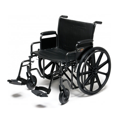 Everest & Jennings Traveler HD heavy duty wheelchair