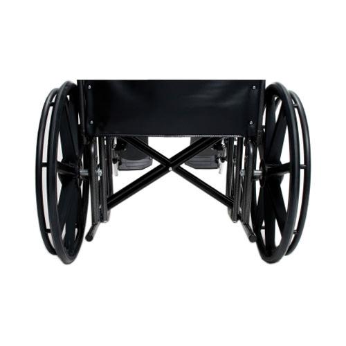 Everest & Jennings Traveler HD wheelchair - Double cross braces