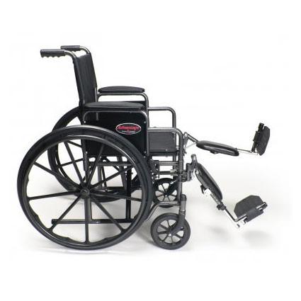 Detachable Desk Arm, Elevating Legrest for Advantage wheelchair