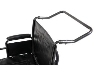 Everest & Jennings Traveler HTC wheelchair with push handle bar