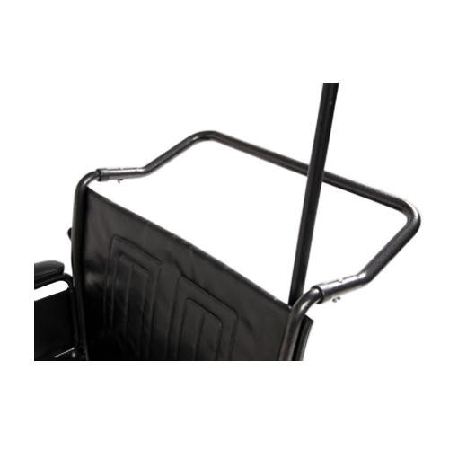 Traveler HTC Heavy Duty Wheelchair - Push handle bar