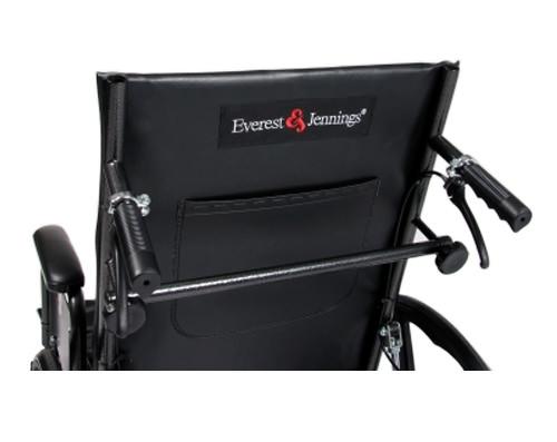 Everest & Jennings advantage recliner wheelchair - Back view