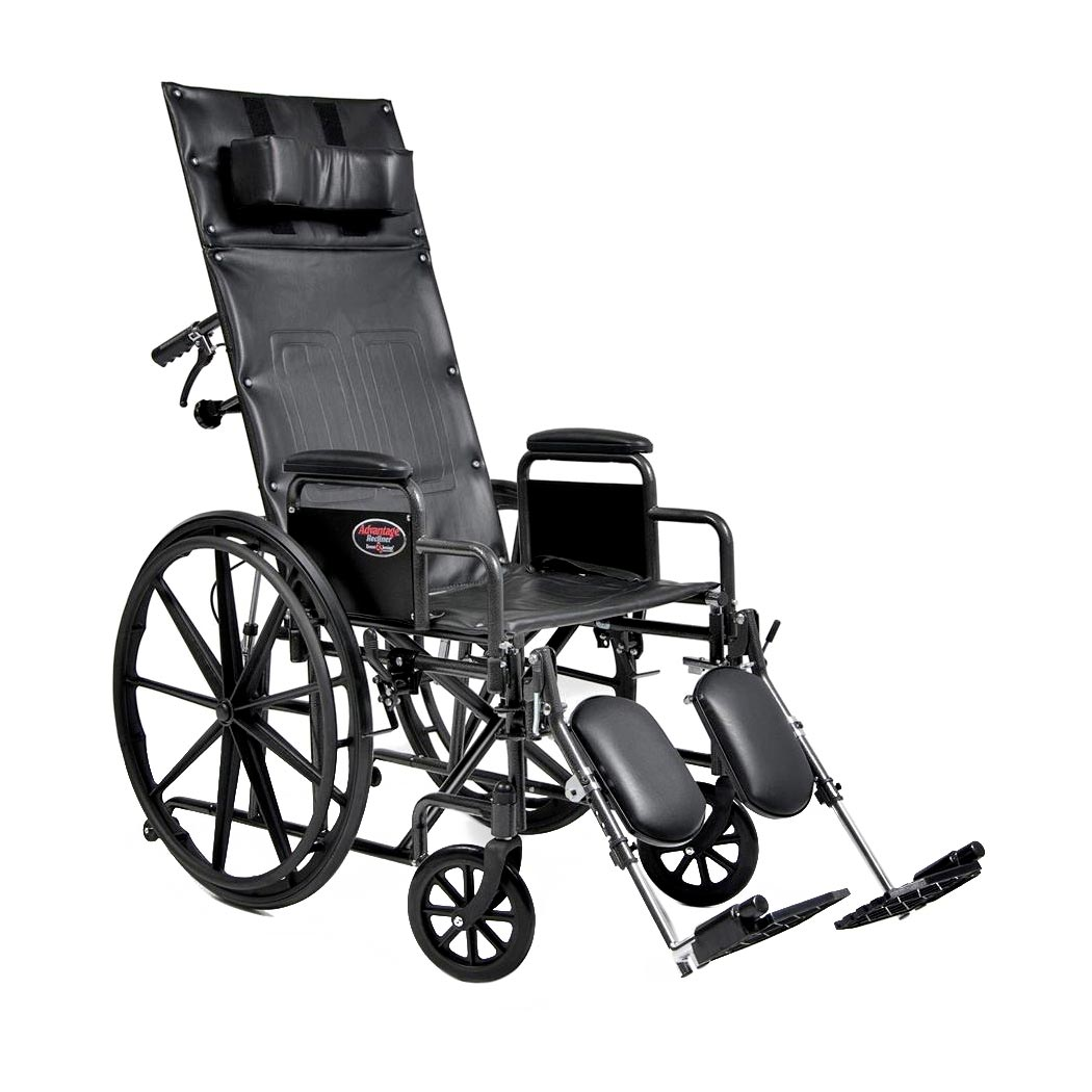 Everest & Jennings advantage bariatric recliner wheelchair