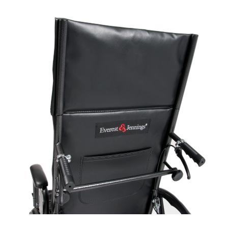Everest & Jennings advantage - Standard chart pocket on back
