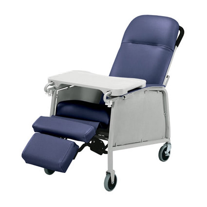 Lumex Three Position Recliner   Invacare Geri Chair