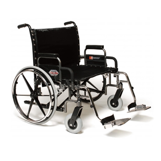 Everest & Jennings Paramount XD heavy duty wheelchair