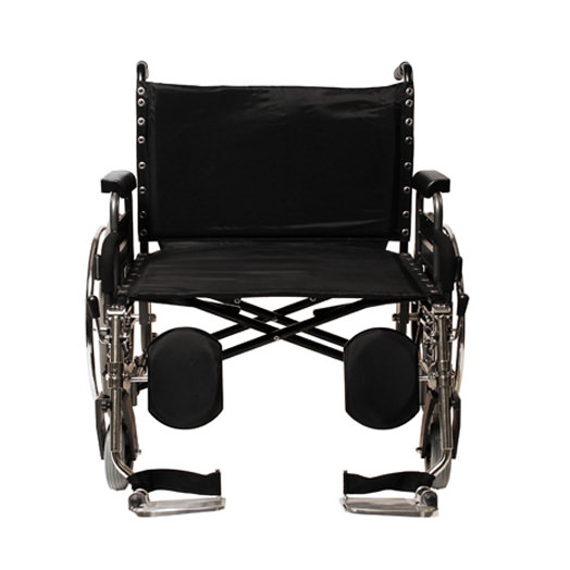 Everest & Jennings Paramount XD wheelchair - Front view