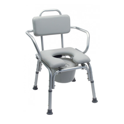 Lumex Platinum Collection Deluxe Padded Commode Seat