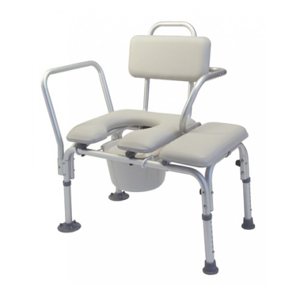 Lumex Padded Transfer Bench With Tub Clamp