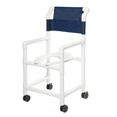 Lumex Pvc Shower Commode Chair