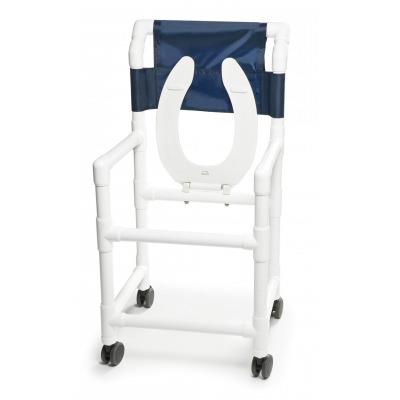 Lumex Pvc Shower Commode Chair | Medicaleshop