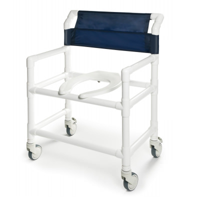 Lumex Pvc Shower Commode Chair | Shower Commode Chair