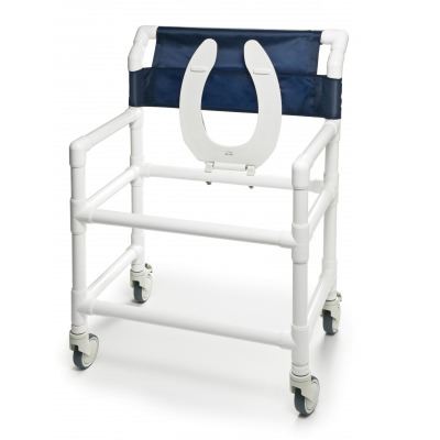 Lumex Pvc Shower Commode Chair | PVC Commode Chair