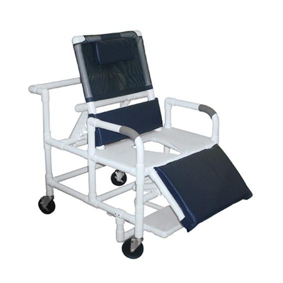 Lumex Pvc Bariatric Reclining Commode Bath Seat | Medicaleshop