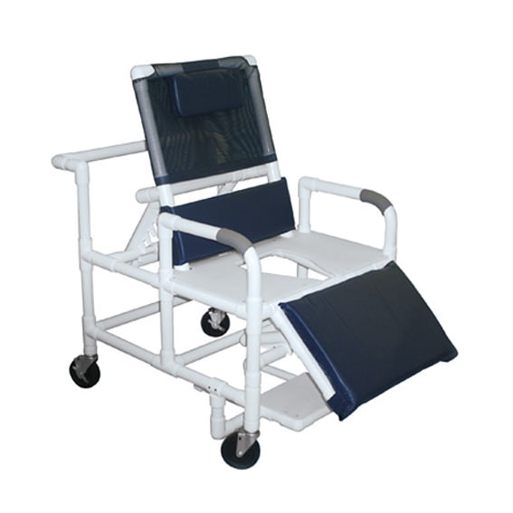 Lumex Pvc Bariatric Reclining Commode Bath Seat | Medicaleshop