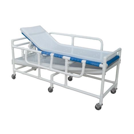 Lumex Pvc Shower Bed/Stretcher - Bariatric