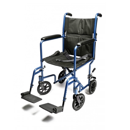 Everest & Jennings lightweight aluminum transport chair