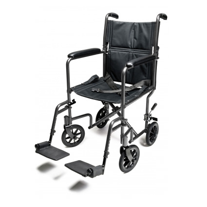 Everest & Jennings EJ781-1 transport chair with positioning belt