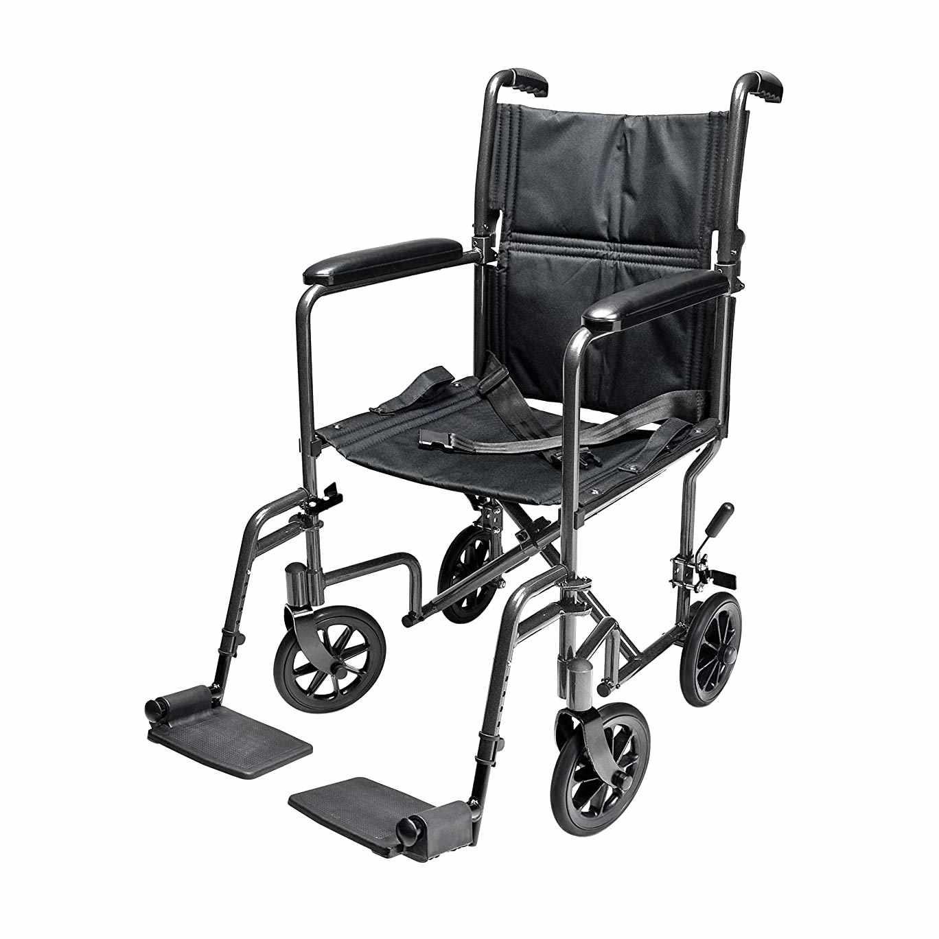 Everest & Jennings steel transport chair, EJ795-1