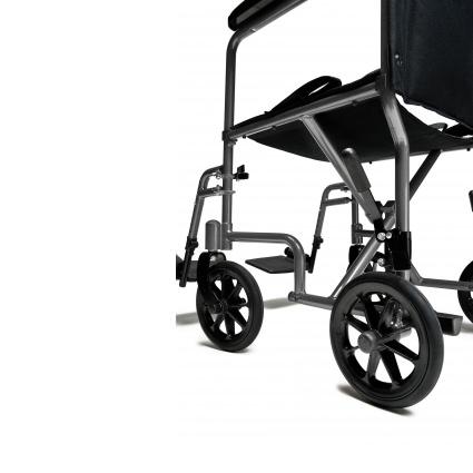 Everest & Jennings EJ795-1 steel transport chair