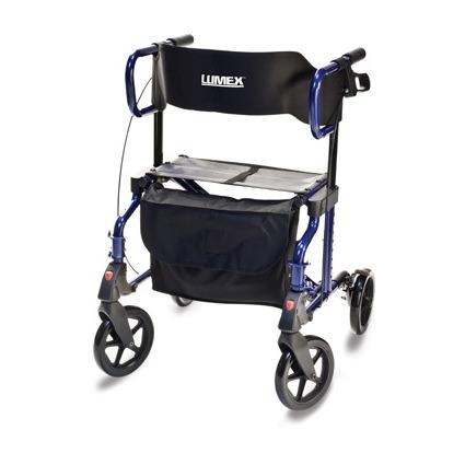 Lumex HybridLX Rollator Transport Chair