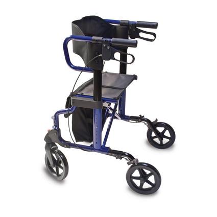 Lumex Hybrid LX Rollator Transport Chair LX1000