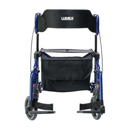 HybridLX Combination Rollator-Transport Wheelchair
