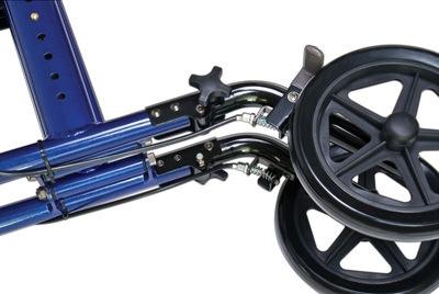 Lumex LX1000 Hybrid LX Rollator Transport Chair