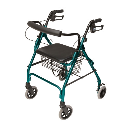 Lumex Walkabout Lite Four Wheel Rollator