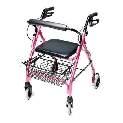 Lumex Walkabout Lite 4 Wheel Rollator