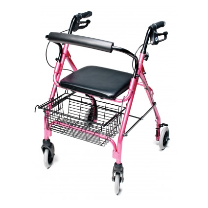 Lumex Walkabout Lite 4 Wheel Rollator