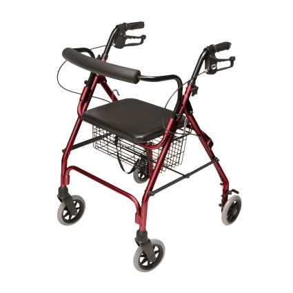 Lumex Walkabout Lite Four-Wheel Rollator by Graham-Field