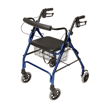 Lumex Walkabout Lite 4 Wheel Rollator by Graham Field