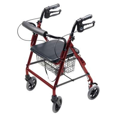 Lumex Walkabout 4 Wheel Hemi Rollator