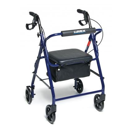 Lumex Walkabout Basic Four-Wheel Rollator