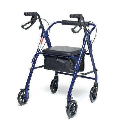 Lumex Walkabout Basic 4 Wheel Rollator