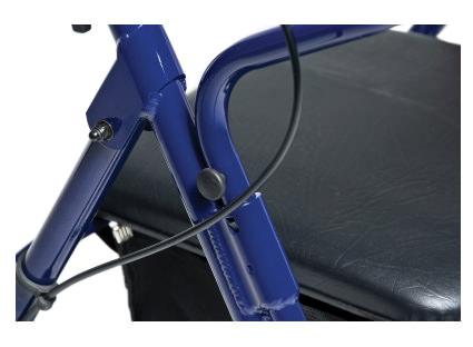 Lumex Walkabout Basic Four Wheel Rollator by Graham-Field