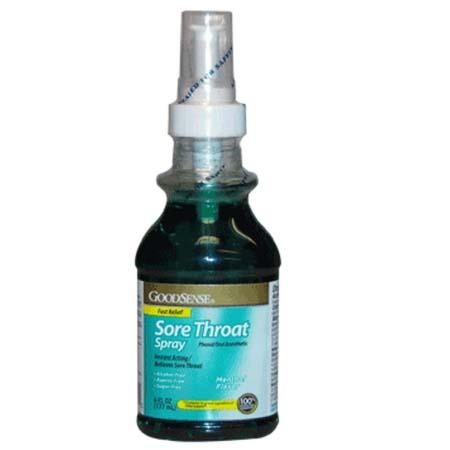 GoodSense Sore Throat Spray