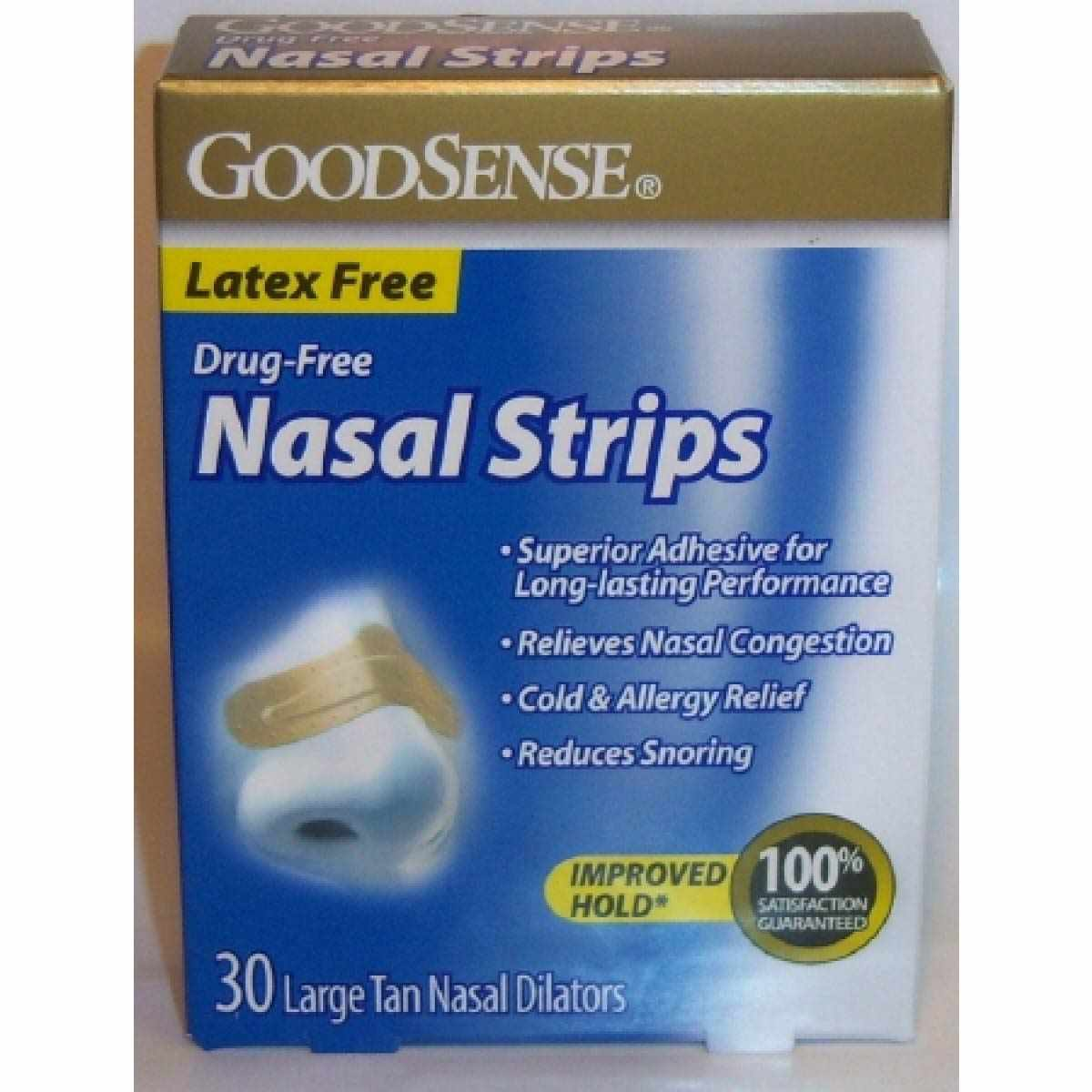 GoodSense Nasal Strips